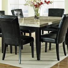 Steve Silver Dining Room Furniture Steve Silver Company Mc500t Monarch Marble Veneer Top Dining Table