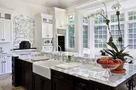 Undermount Kitchen Sink Team Up With Traditional Faucet And Marble - Marble kitchen sinks