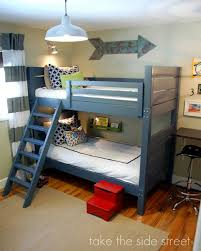 Plans For Bunk Bed With Steps by 7 Free Bunk Bed Plans You Can Diy This Weekend