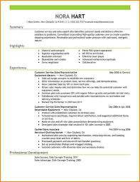 Resume Summary Examples Customer Service by Resume Summary Statement Example Of Resume Summary Professional