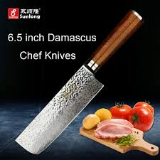 aliexpress com buy sunlong 67layers damascus steel kitchen knife