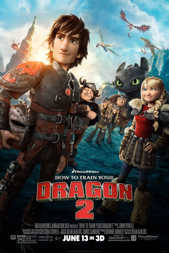 How To Train Your Dragon 2 (2014) 1080p BluRay x264 [Multi Audio] [Hindi-Tamil-Telugu-Eng]~Invincible 3.44 GB
