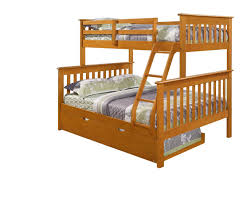 Amazoncom Twin Over Full Mission Bunk BedFixed LadderHoney - Ladder for bunk bed