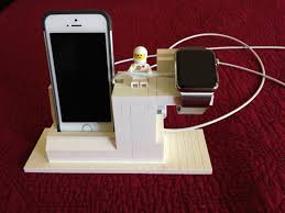 lego charging station for apple watch and iphone lego creations
