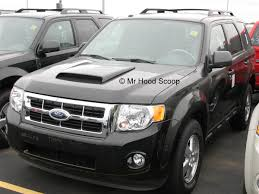 Ford Escape Sport - escape hood scoop hs003 by mrhoodscoop