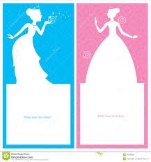 Card Invitation Princess Birthday Card Invitation Stock Vector Image 44301247