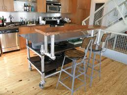 Kitchen Peninsula With Seating by 12 Diy Kitchen Island Designs U0026 Ideas U2013 Home And Gardening Ideas