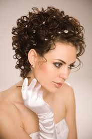 photo short hairstyles curly for wedding hair salon tips short