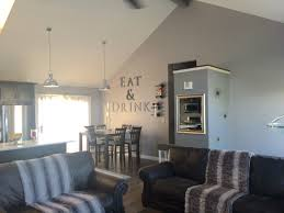 Interior Design For Small Spaces Living Room And Kitchen Wall Removal Vaulted Ceilings Raised Ranch Open Concept Living