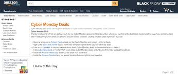 amazon black friday cyber monday sales the best of this year u0027s black friday cyber monday marketing blog