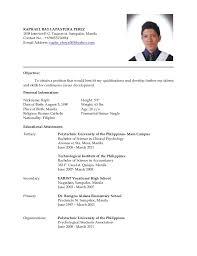 en resume college resume      image job resume sample philippines mainstreamresumeprocom break upus jpg Break Up