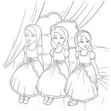 elegant barbie coloring pages free large images coloring pages