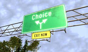 Make A Choice and Then A Decision