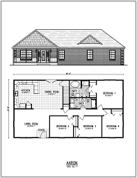 Ranch House Plans With Wrap Around Porch All American Homes Floorplan Center Staffordcape Mynexthome