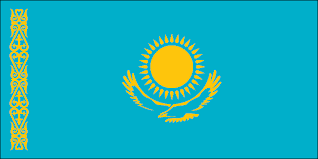 Flag of Khazkhstan