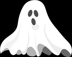 halloween ghost clipart black and white clipart ghost