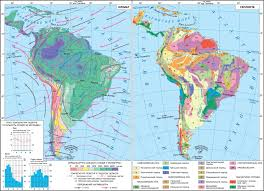 Physical Map Of South America maps population landscape and climate estimates place v2 south