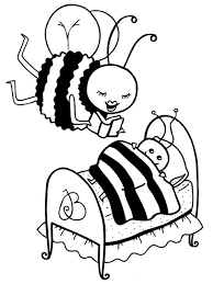 cute honey bee coloring pages virtren com
