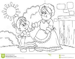 8 images of grandma and granddaughter coloring pages grandpa and