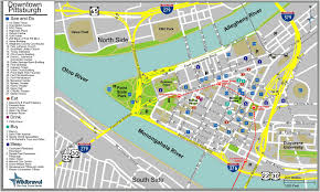 Downtown Dallas Map by Maps Of Dallas Pittsburgh Map
