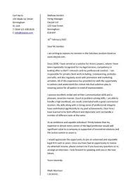 Example Of A Job Application Letter South Africa   Cover Letter