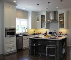 Painting Kitchen Cabinets Blue Kitchen Kitchen Blue Painted Kitchen Cabinets Fabulous Two Tone