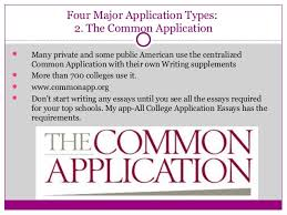 Guide to the           Common App Essays  Your Transition from