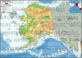 Map For United States by Geoatlas United States And Canada Alaska Map City