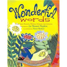 WONDERFUL WORDS: POEMS ABOUT