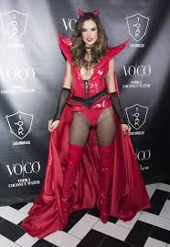 Wolf Halloween Costume Alessandra Ambrosio U0027s Halloween Costumes Popsugar Latina