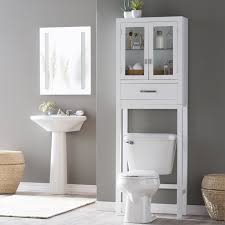 Bathroom Storage Shelves Over Toilet by Bathroom Lowes Medicine Cabinet Over Toilet Etagere Storage