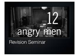 Review  amp  Synopsis     Angry Men         amp  Argument Analysis   The     DVD Netflix