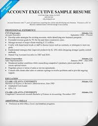 Best Executive Resume Format by Outstanding Resume Format Of Accounts Executive 48 In Resume For
