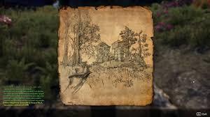 Morrowind Map Vvardenfell Ce Treasure Map 3 Location Youtube