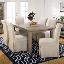 decor best slipcover for parson chairs create awesome home chair beautiful jofran white slipcover for parson chair skirted linen combo cover standing on navy rug and