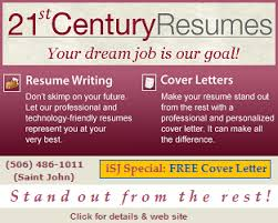 Saint John Classifieds  amp  Forums   Saint John  New Brunswick  Canada   st Century Resumes   Your dream job is our goal  Resume writing services   iSJ