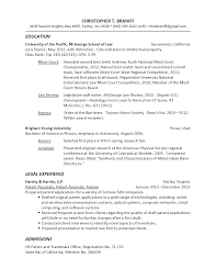 Sample Lawyer Resumes by Ma Resume Sample Resume For Your Job Application