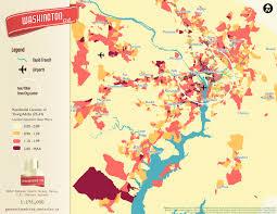 Map Of Boston Neighborhoods by Millennial Neighborhood Maps Business Insider