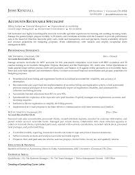 Sample Resume For Retail Manager by Accounts Receivable Clerk Resume Free Resumes Tips