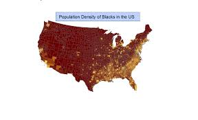 Population Density Map United States by Mingfai Chan