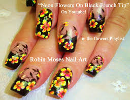 robin moses nail art tropical nails with essie sunshine state of