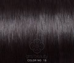 Grey Human Hair Extensions by Gmj Beauty