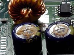 condensadores malos