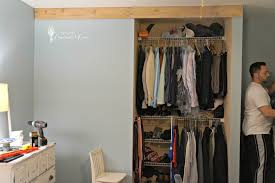 Diy Barn Doors by Bedroom Closet Barn Door Diy
