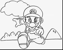 brilliant super mario bros characters coloring pages with mario