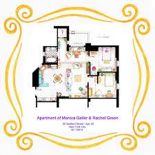 New York Apartments Floor Plans by Floor Plans Of Your Favorite Tv Apartments Nerdist