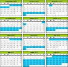 Calendrier scolaire 2011/