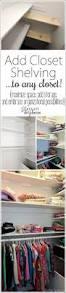 best 25 closet storage ideas on pinterest clothing organization
