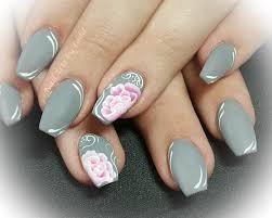 one stroke floral nail art nailpro
