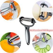 multi functional rotary head slicer shredder slicer peeler